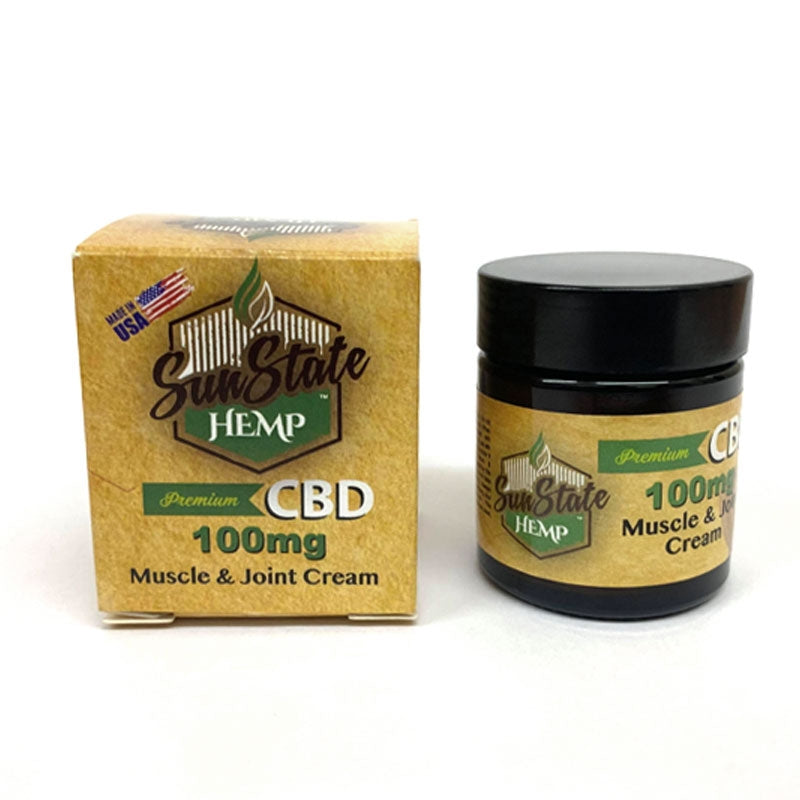 Sunstate  Hemp Muscle & Joint CBD Cream 30ML 100MG