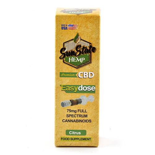 SUNSTATE EASYDOSE CBD OIL 75MG (1ML)