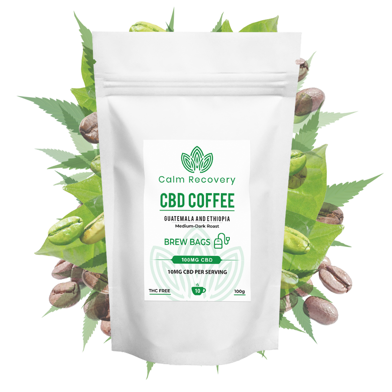 Calm Recovery - Ground CBD Coffee
