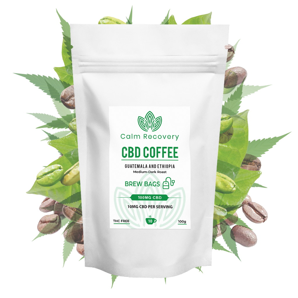 Calm Recovery - CBD Coffee Brew Bags
