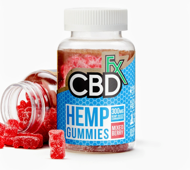 CBDfx: Gummy Bears 60 Pack 300mg (5mg/ea)