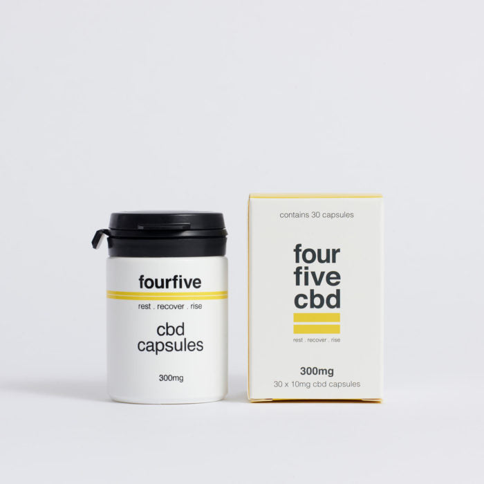 Four Five - CBD Capsules 300mg
