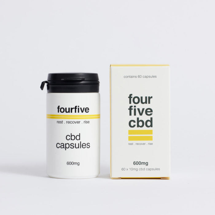 Four Five - CBD Capsules 600mg