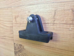 "Hinge for 7/8"" rail - 1 Screw"