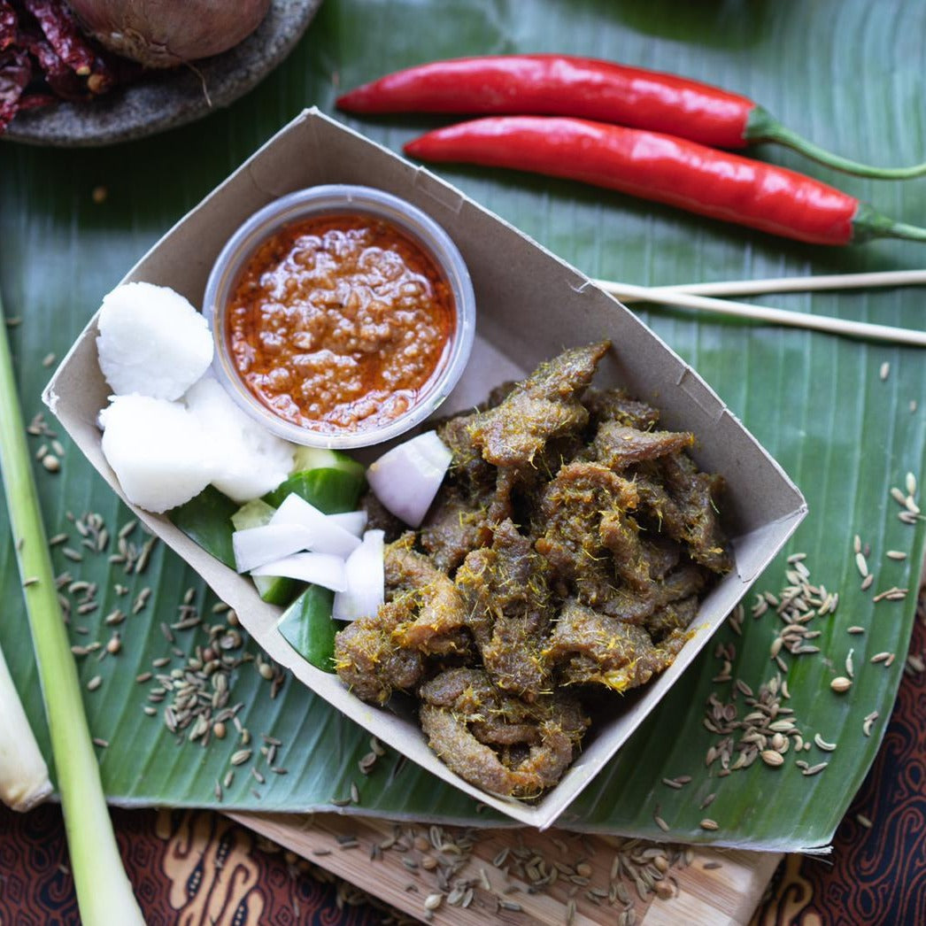 Frozen Packed Beef Satay Goreng