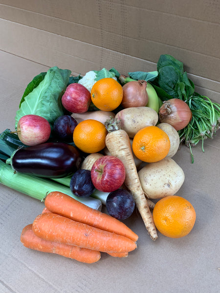 Medium Essentials Box Fruit And Vegetables