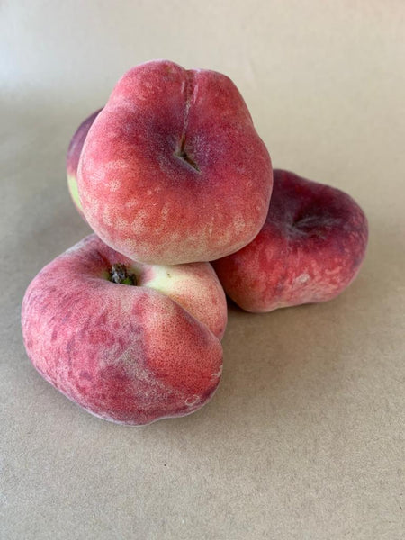 Flat Peaches (4 Pieces)