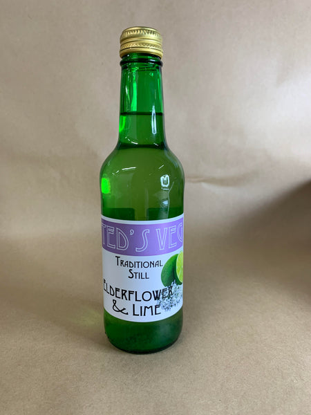 Elderflower & Lime 330ml