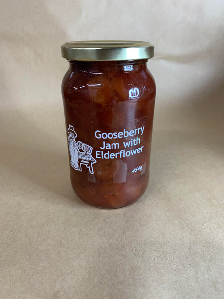 Gooseberry Jam with Eldeflower