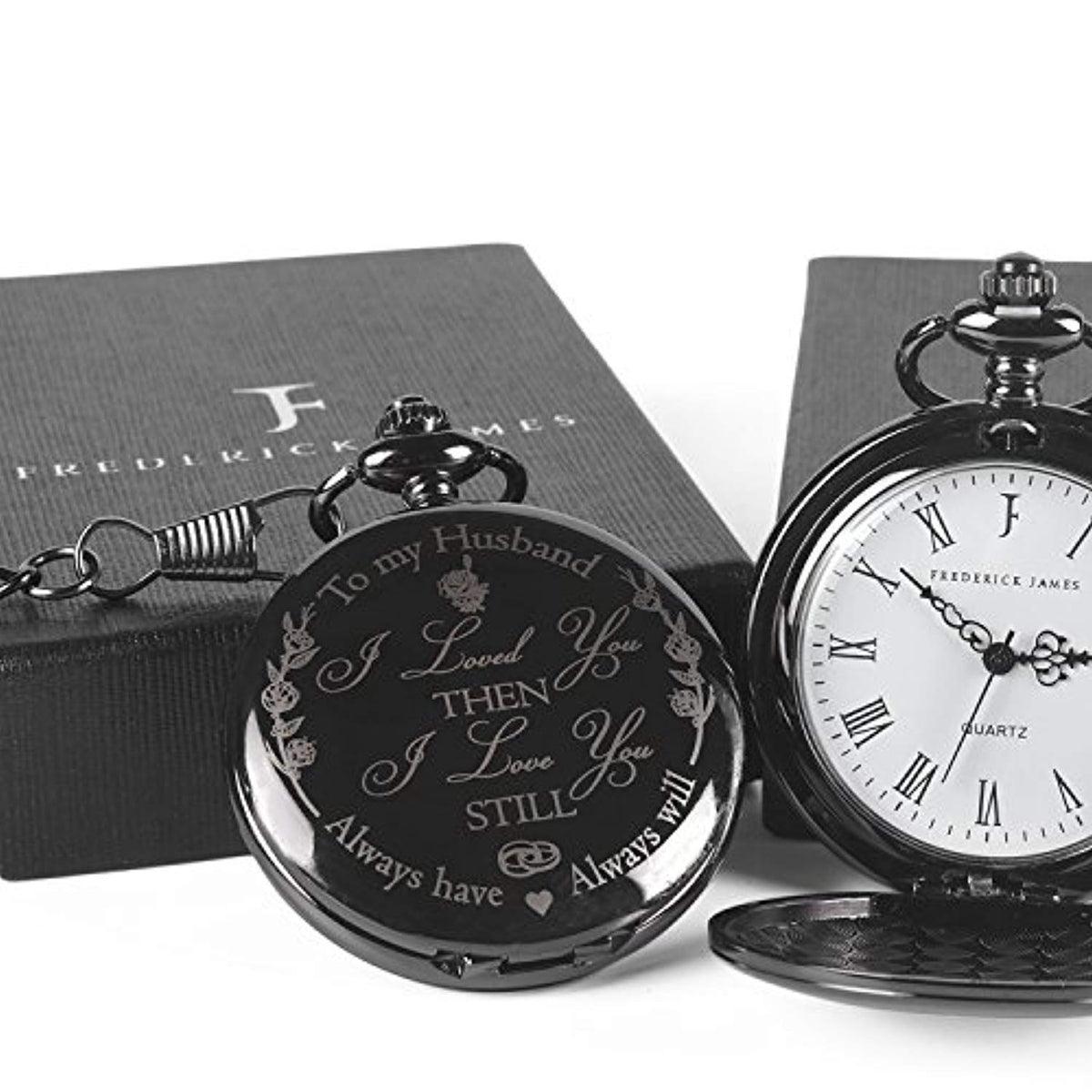 Perfect Wedding Anniversary Gift For Husband: 'To My Husband' Pocket Watch