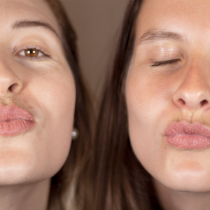 Two ladys using Your best lip scrub