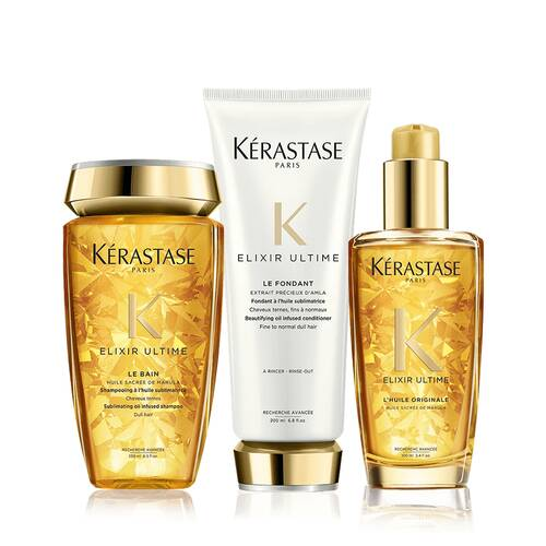 Elixir Ultime Hair Serum Set | by Kerastase