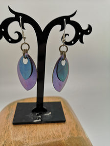 Titanium Scale Earrings