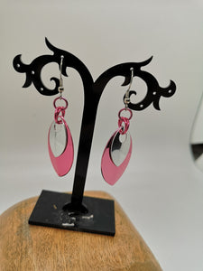 Premium Two-Scale Drop Earrings