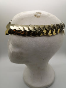 Laurel Dragonscale Necklace and Headpiece