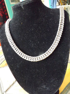 Stainless Steel Chainmaille Necklace - Half Persian 4 in 1 Chainmail