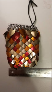 Dragonscale Dice Bags - Large - Chain and Scale Maille Pouches