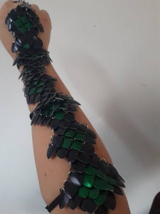 Scalemail Diamond Small Scale Half Sleeves