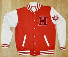 Load image into Gallery viewer, Olympic Smoke Varsity Jacket