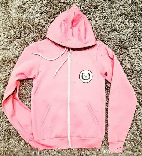 Women's Hooded Sweatsuit pink