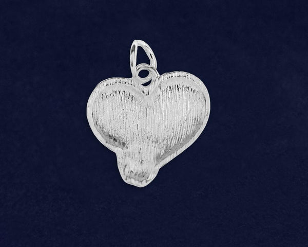 10 Favorite Teacher Heart Charms (10 Charms) - Fundraising For A Cause