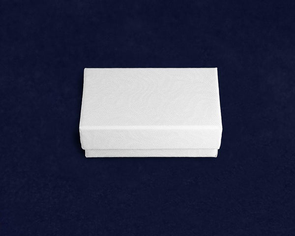100 White Pin Jewelry Boxes (100 Boxes) - Fundraising For A Cause