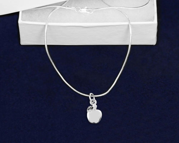 12 Apple Necklaces (12 Necklaces) - Fundraising For A Cause