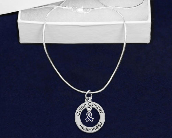 12 Colon Cancer Awareness Necklaces (12 Necklaces) - Fundraising For A Cause