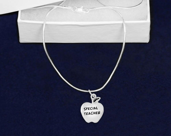 12 Special Teacher Necklaces (12 Necklaces) - Fundraising For A Cause