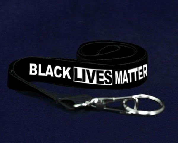 25 Black Lives Matter Lanyards (25 Lanyards) - Fundraising For A Cause
