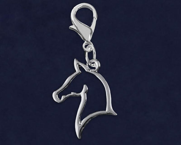 25 Horse Head Hanging Charms (25 Charms) - Fundraising For A Cause