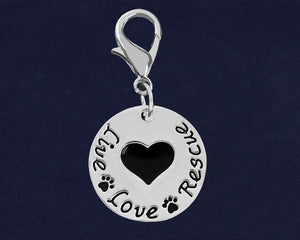 Live Love Rescue Hanging Charms - Fundraising For A Cause