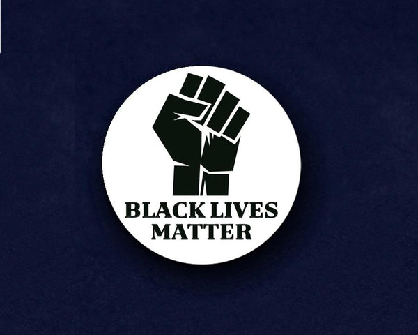 25 Round Black Lives Matter Pins (25 Pins) - Fundraising For A Cause