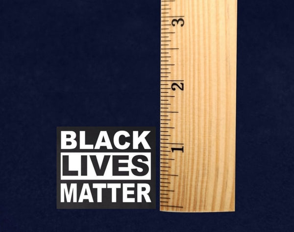 25 Small Square Black Lives Matter Decals (25 Decals) - Fundraising For A Cause