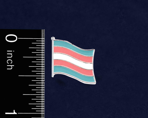 25 Transgender Flag Pins (25 Pride Pins) - Fundraising For A Cause