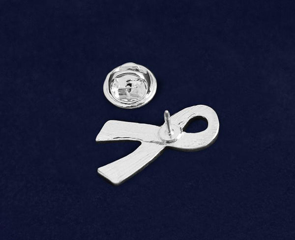 50 Large Flat Sexual Assault Awareness Ribbon Pins (50 Pins) - Fundraising For A Cause