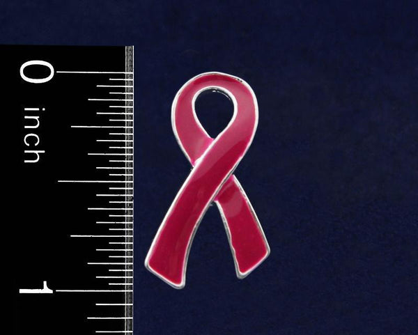 50 Sickle Cell Anemia Awareness Ribbon Pins (50 Pins) - Fundraising For A Cause