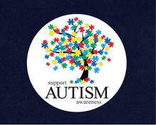 Load image into Gallery viewer, 500 Support Autism Awareness Tree Stickers (500 Autism Stickers) - Fundraising For A Cause