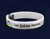 25 Down Syndrome Awareness Bangle Bracelets (25 Bracelets)