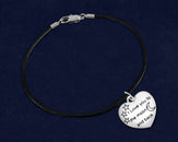 12 I Love You To The Moon And Back Leather Bracelets (12 Bracelets)