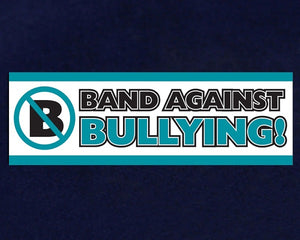 Band Against Bullying Anti Bully Banner