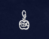 10 Apple ABC Charms (10 Charms)