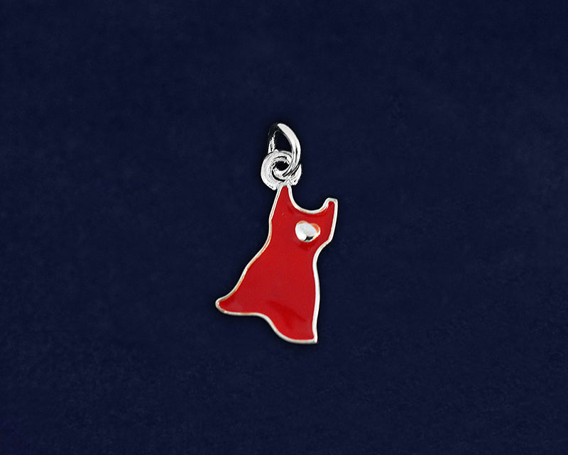 Red Dress Charms, Go Red Charms - Fundraising For A Cause