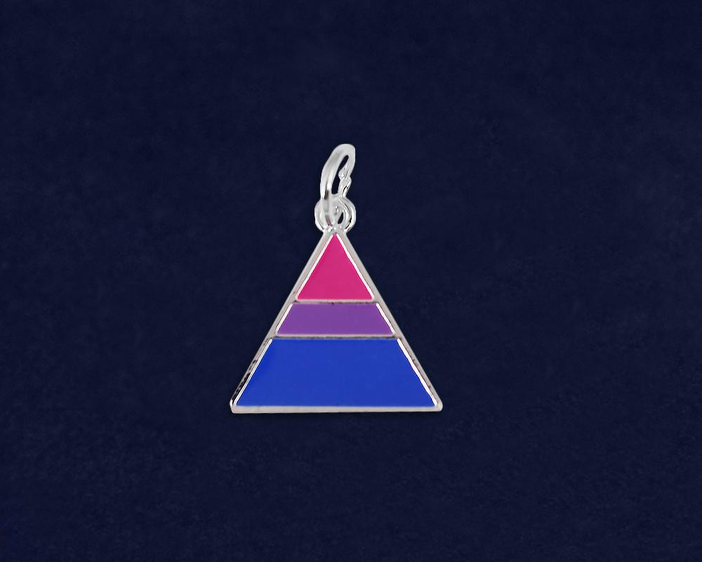 Triangle Bisexual Charms  - Fundraising For A Cause