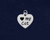 25 Love My Cat Charms (25 Charms)