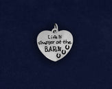 25 Life is Simpler at the Barn Charms (25 Charms)