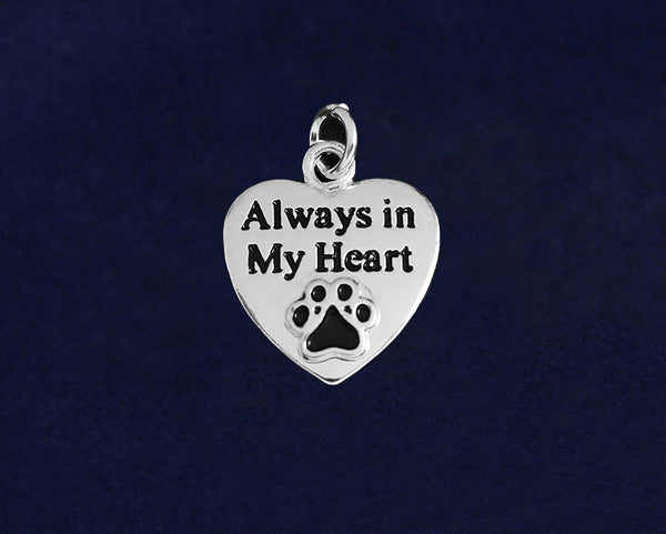 25 Always in My Heart Charms (25 Charms)