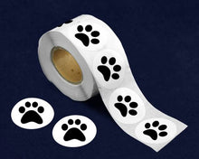 Load image into Gallery viewer, 500 Paw Print Stickers (500 Stickers)