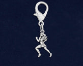 25 Female Runner Hanging Charms (25 Charms)