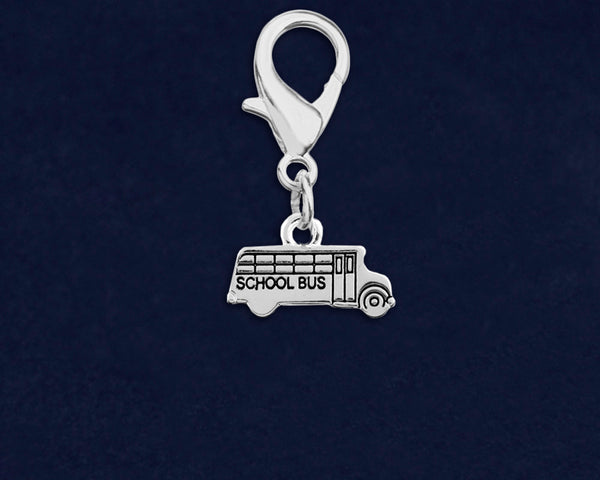 School Bus Hanging Charm